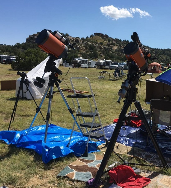 GOTO telescopes. Photo by Tom Arnold.