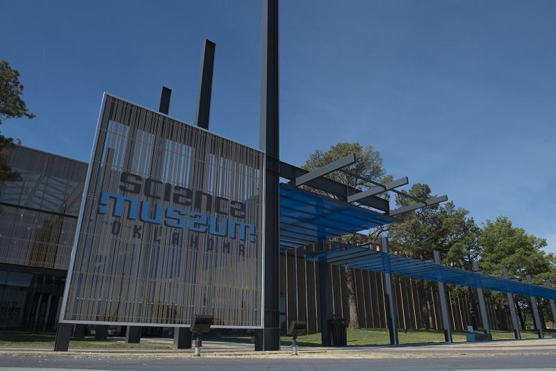 Science Museum Oklahoma entrance