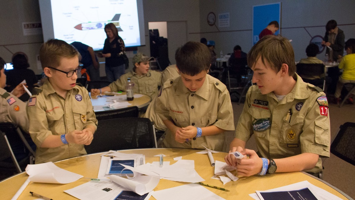 Boy Scout Badge Classes at Science Museum Oklahoma