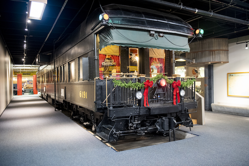 Pullman Parlor Car at Science Museum Oklahoma