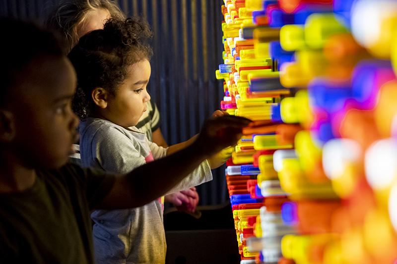 Science Museum Oklahoma - Tinkerfest - Light Bright