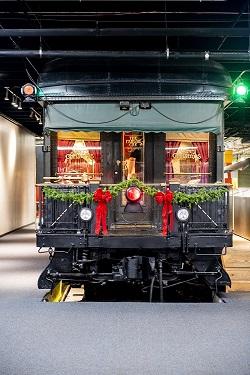Pullman Parlor Car at Science Museum Oklahoma