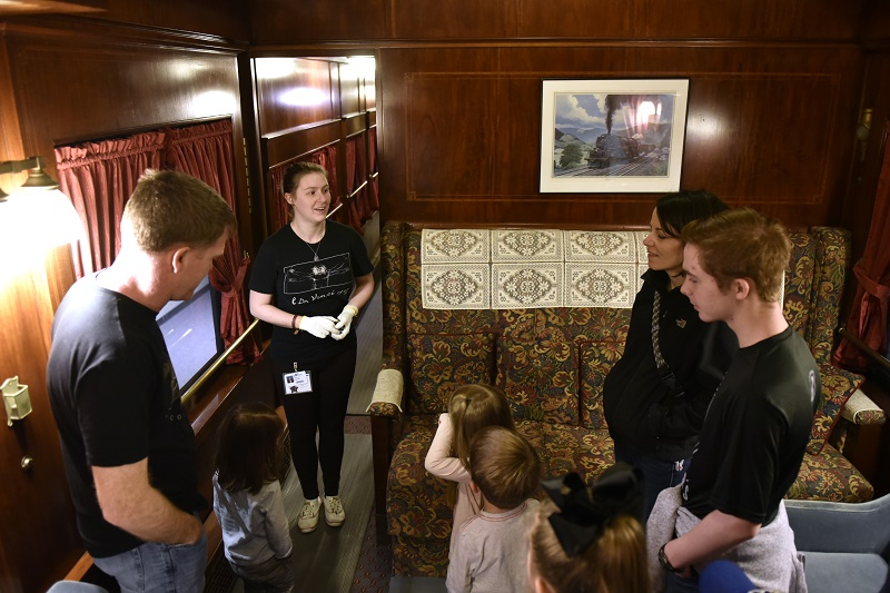 Pullman Parlor Car Science Museum Oklahoma