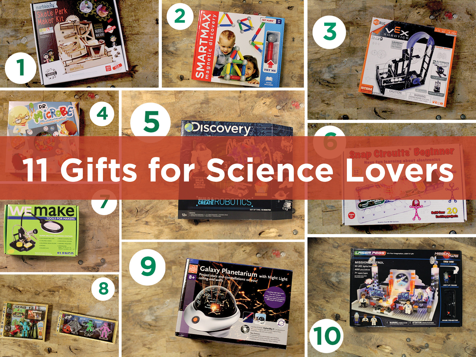 Science Museum Oklahoma holiday gifts