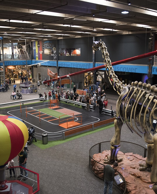 Science Floor at Science Museum Oklahoma
