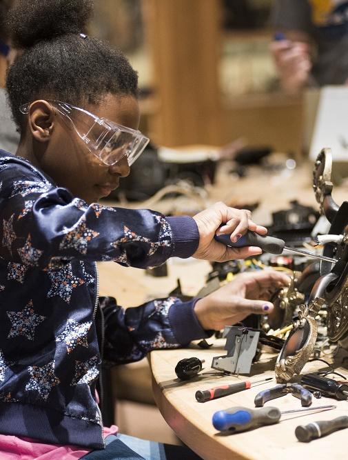 Tinkering Garage at Science Museum Oklahoma