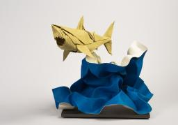 Nguyen Hung Cuong Great White Shark Origami Science Museum Oklahoma