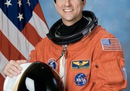 Former NASA astronaut Don Thomas, Ph.D. Photo provided by NASA.