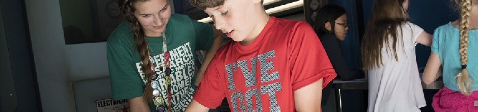 teen apprentice program at science museum oklahoma