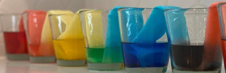 Walking Rainbow Glasses